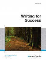 Image for the textbook titled Writing for Success