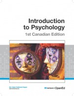 Image for the textbook titled Introduction to Psychology - 1st Canadian Edition