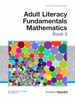 Image for the textbook titled Adult Literacy Fundamentals Mathematics: Book 3
