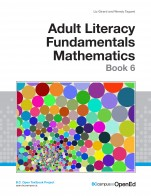 Image for the textbook titled Adult Literacy Fundamentals Mathematics: Book 6