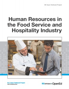 Human Resources in the Food Service and Hospitality Industry COVER