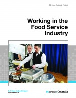 """Working in the Food Service Industry"" icon"