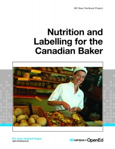 OTB COVER Nutrition and Labelling for the Canadian Baker