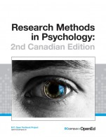 Image for the textbook titled Research Methods in Psychology - 2nd Canadian Edition