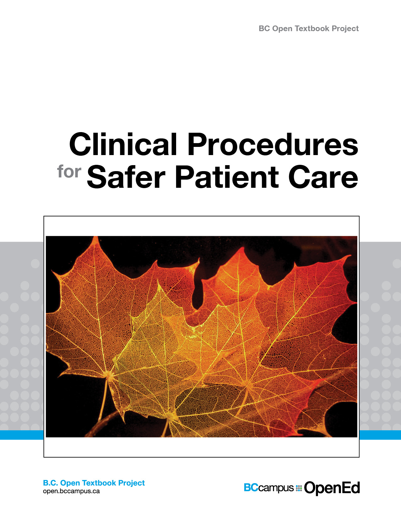 Clinical Procedures for Safer Patient Care icon
