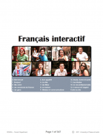Image for the textbook titled Français Interactif