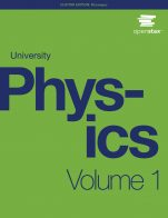 Image for the textbook titled University Physics - Volume 1 (OpenStax)