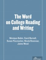 Image for the textbook titled The Word on College Reading and Writing