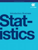 Image for the textbook titled Introductory Business Statistics (OpenStax)