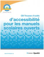 Image for the textbook titled CB Trousse d'outils d'accessibilité pour les