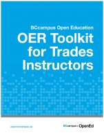 Image for the textbook titled OER Toolkit for Trades Instructors