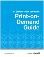 Image for the textbook titled Print-on-Demand Guide