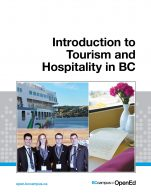 Image for the textbook titled Introduction to Tourism and Hospitality in BC