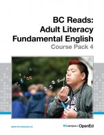 Image for the textbook titled BC Reads: Adult Literacy Fundamental English - Course Pack 4