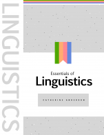 Image for the textbook titled Essentials of Linguistics