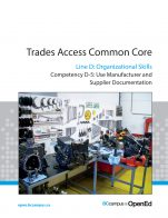 Image for the textbook titled Line D - Organizational Skills Competency D-5: Use Manufacturer and Supplier Documentation