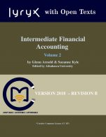 Image for the textbook titled Intermediate Financial Accounting - Volume 2 (Lyryx)