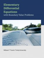Image for the textbook titled Elementary Differential Equations with Boundary Value Problems