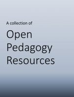 Image for the textbook titled Open Pedagogy Resources