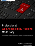 Image for the textbook titled Professional Web Accessibility Auditing Made Easy