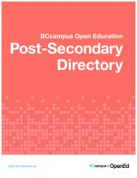 Image for the textbook titled Post-Secondary Directory