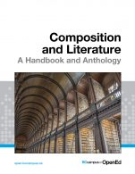 Image for the textbook titled Composition and Literature: A Handbook and Anthology