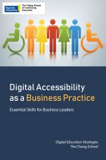 Image for the textbook titled Digital Accessibility as a Business Practice