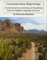 Image for the textbook titled Communication Beginnings: An Introductory Listening and Speaking Text for English Language Learners