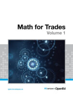 Image for the textbook titled Math for Trades: Volume 1