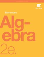 Image for the textbook titled Elementary Algebra - 2e (OpenStax)