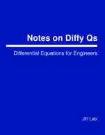 Image for the textbook titled Notes on Diffy Qs: Differential Equations for Engineers