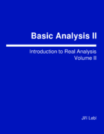 Image for the textbook titled Basic Analysis: Introduction to Real Analysis - Volume 2