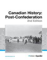 Image for the textbook titled Canadia History: Post-Confederation - 2nd Edition