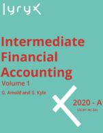 Image for the textbook titled Intermediate Financial Accounting - Volume 1 (Lyryx)
