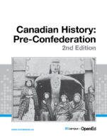 Image for the textbook titled Canadian History: Pre-Confederation – 2nd Edition