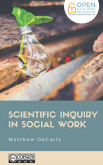 Image for the textbook titled Scientific Inquiry in Social Work