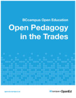 Image for the textbook titled Open Pedagogy in the Trades