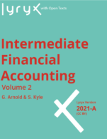 Image for the textbook titled Intermediate Financial Accounting: Volume 2 - 2021A (Lyryx)