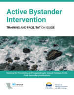 Image for the textbook titled Active Bystander Intervention: Training and Facilitation Guide