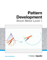 Image for the textbook titled Pattern Development: Sheet Metal Level 1
