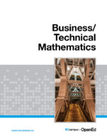 Image for the textbook titled Business/Technical Mathematics