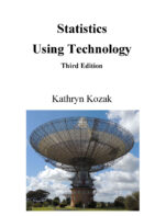 Image for the textbook titled Statistics Using Technology - Third Edition